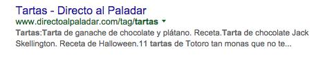 Primeras posiciones en Google con TAG