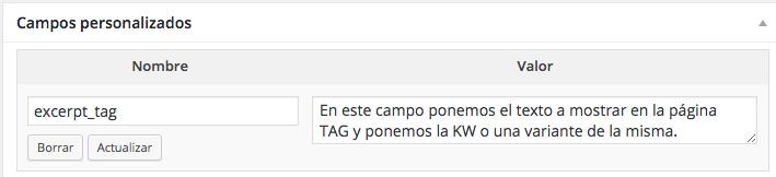 tag de wordpress