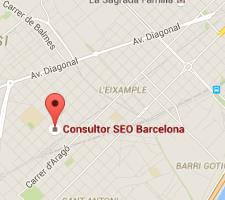 Mapa de situación de Consultor SEO en Barcelona